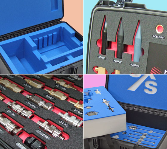 custom foam inserts for Peli cases