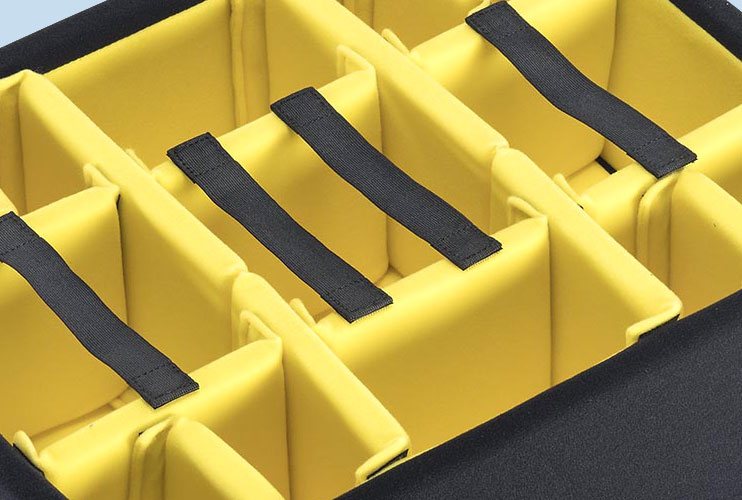 Upgraded Peli Padded Divider Sets