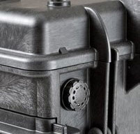 close up of an explorer 5140 tool cases Automatic Purge Valve