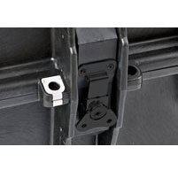 Close up of explorer 10840 cases 8 Heavy Duty Metal Latches