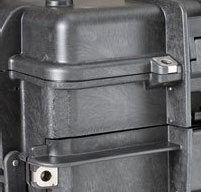 close up of an explorer 5140 tool cases Metal Clips