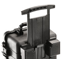 a close up of a Peli 1510M Mobility Cases retractable extension handle