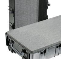 close up of peli 1780 transport cases detachable lid for full access