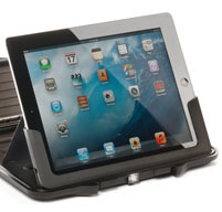 black peli i1065 protective case with an iPad inside