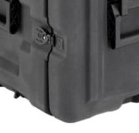close up of peli hardigg blackbox 4u rack mount cases Airtight and watertight