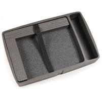 a close up of a Peli iM2370CC1 Storm Laptop Case Laptop Protection Tray